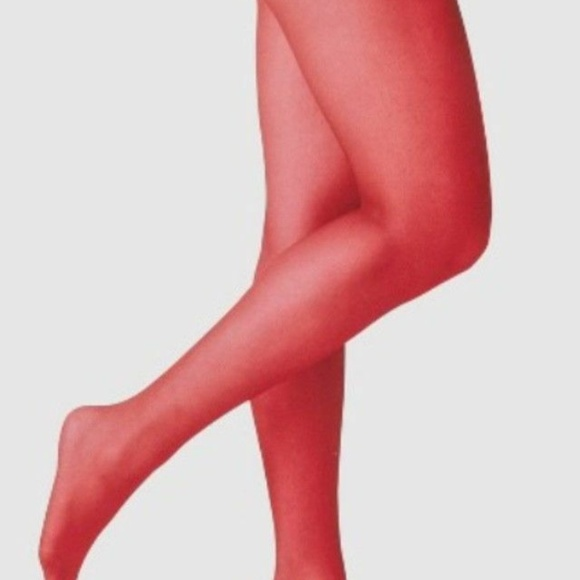 e14969d74 a new day Accessories | Nip Red Velvet Sheer Tights | Poshmark